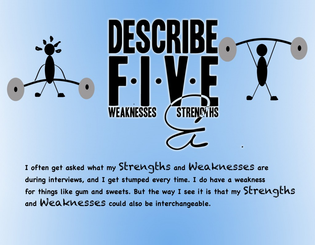 my strenghts and weaknesses Strengths and weaknesses analysis in a strengths and weaknesses analysis you explore your strengths and weaknesses and try to discover the professional opportunities that exist for you your personal obstacles, issues that might hinder your progress, are discussed as well.