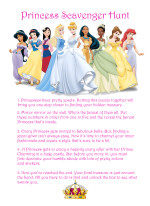 A Scavenger Hunt Fit for a Princess