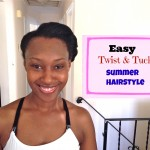 Protective Style: Retro Hair in 5 Minutes or Less