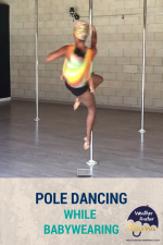 Must-See Video: This mom makes pole dancing while babywearing look easy