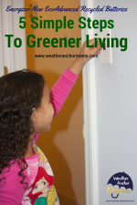 5 Simple Steps to Greener Living (Giveaway)