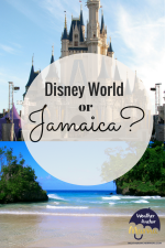 Family Vacation: Should We Choose Disney or Jamaica?