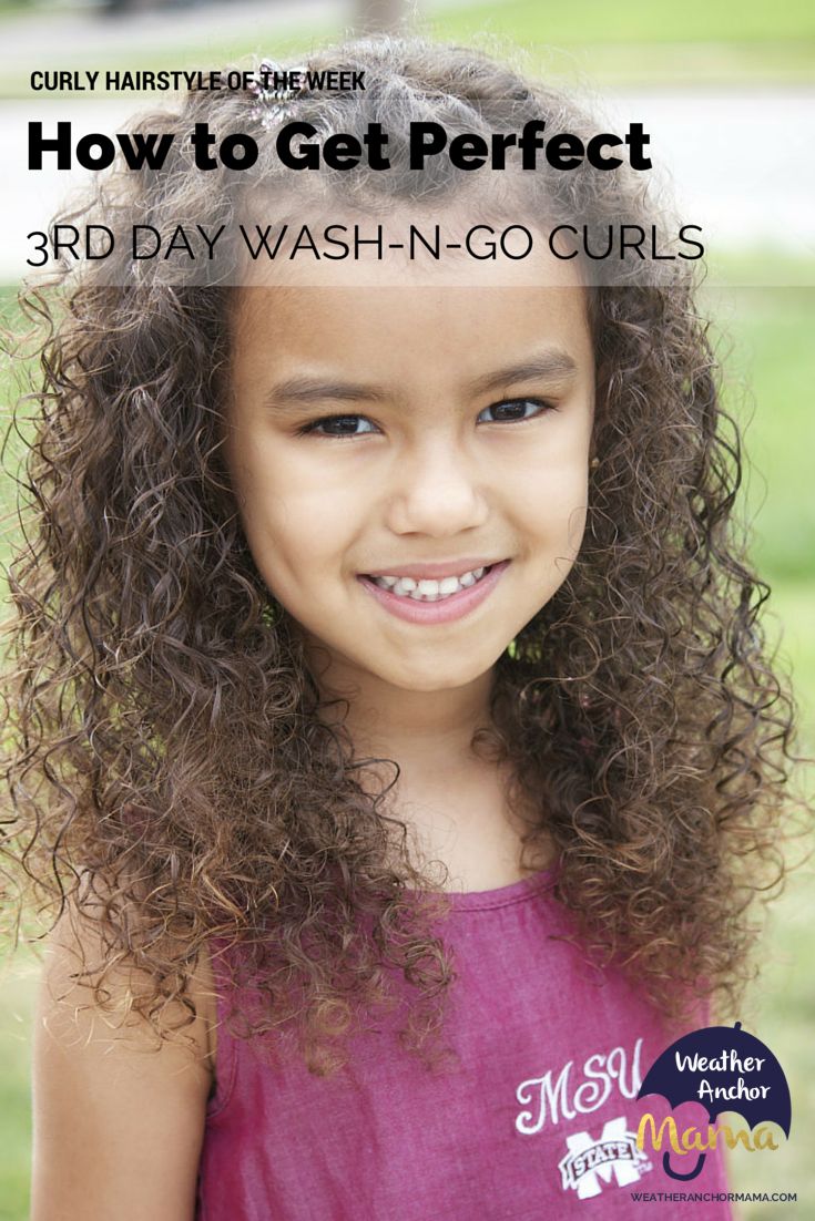 Mixed Hair Care: Third Day Wash-N-Go Curls | Weather