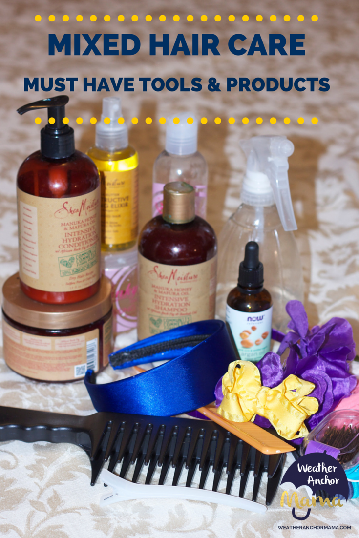 Mixed Hair Care Must Have Tools And Products For Curly