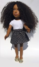 Can this Naturally Curly Doll Help Change Society's Beauty Standards?