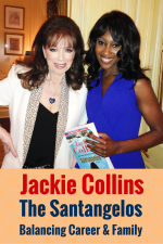 Jackie Collins Interview: 3 Tips on Balancing Career and Family (Giveaway)
