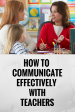 How to Communicate Effectively With Your Children's Teachers