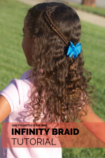 Curly Hairstyle of the Week: How to do an Infinity Braid