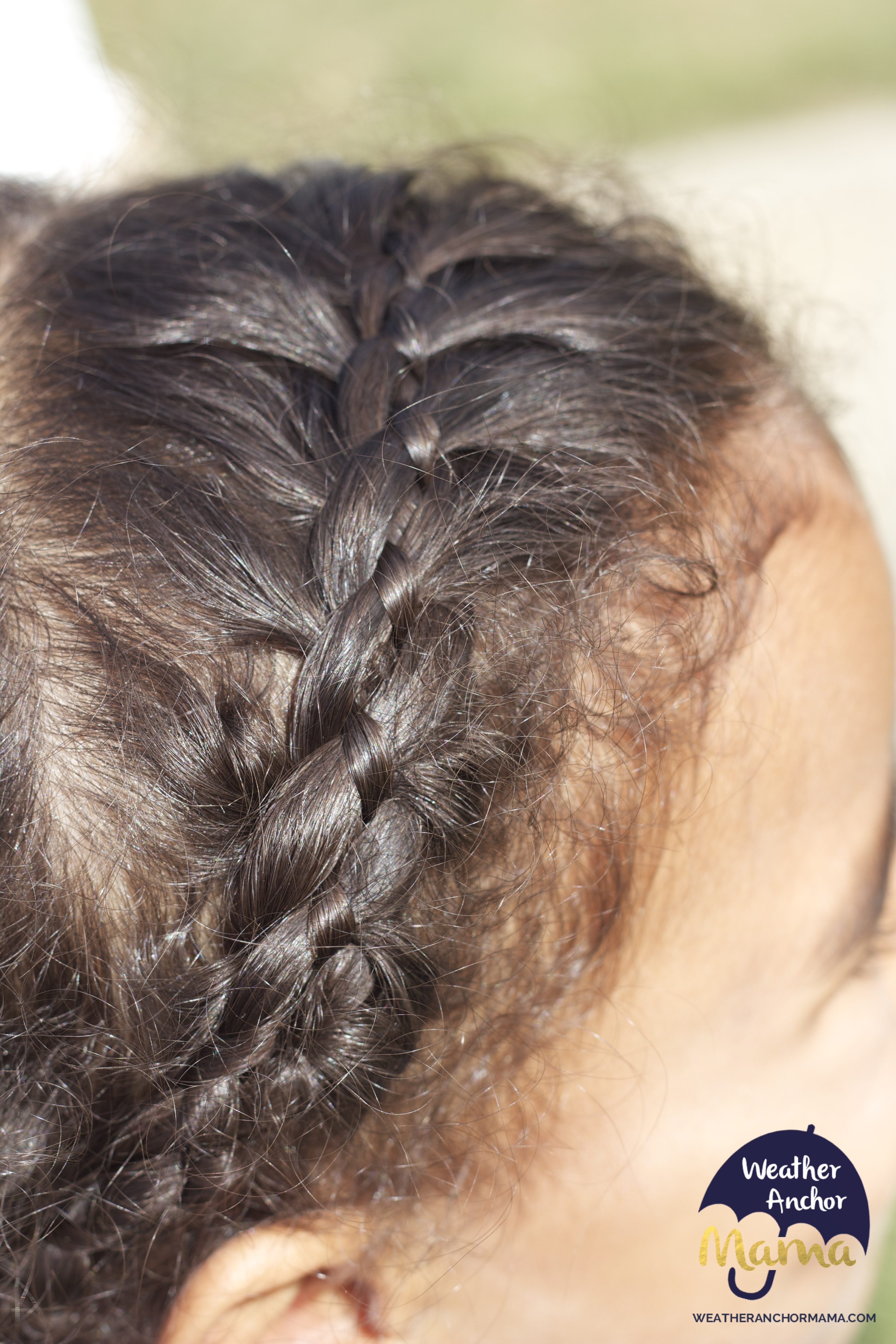 How To Do A 4strand French Braid On Curly Hair