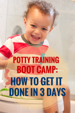 How I Potty Trained My Son in Three Days