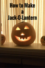 Teaching Kids How to Carve a Jack-O-Lantern