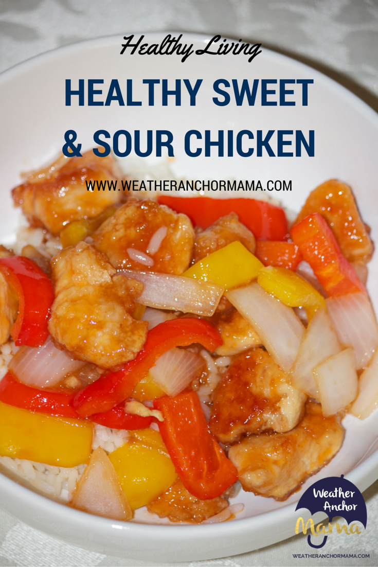Healthy Sweet and Sour Chicken Recipe | Weather Anchor Mama