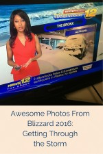Blizzard 2016: Getting Through the Storm
