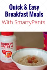 Healthy Quick Breakfast Meals With SmartyPants