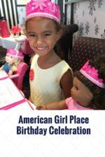 American Girl Place Birthday Celebration