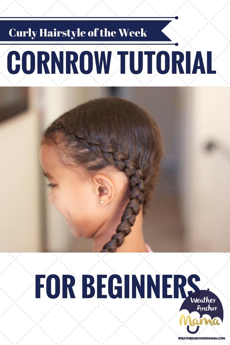 Cornrow Braid Video Tutorial For Beginners