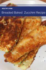 Breaded Baked Zucchini Recipe
