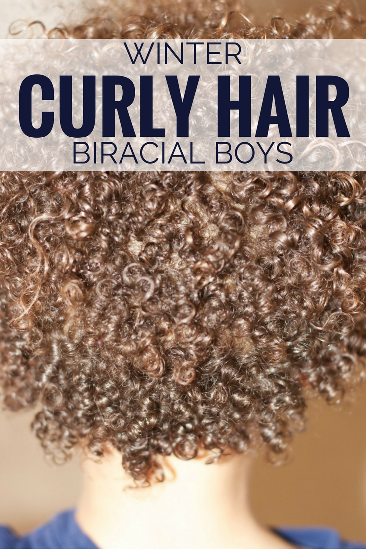 Winter Curly Hair Routine For Boys Weather Anchor Mama
