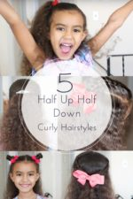 5 Easy Half Up Half Down Curly Hairstyles